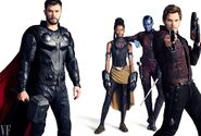 Avengers - Infinity War Vanity Fair Promobild 2