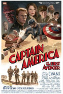 Captain America - The First Avenger Comicposter 2