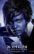 X-Men Apocalypse - Nightcrawler Charakterposter