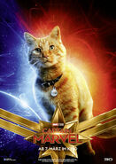 Captain Marvel deutsches Charakterposter Goose