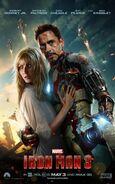 Iron Man 3 Charakterposter Iron Man und Pepper