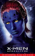 X-Men Apocalypse - Mystique deutsches Charakterposter