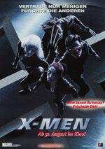 X-Men zweites deutsches Filmposter