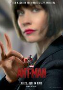 Ant-Man deutsches Charakterposter Hope van Dyne