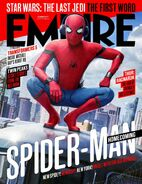Spider-Man Homecoming Empire Cover
