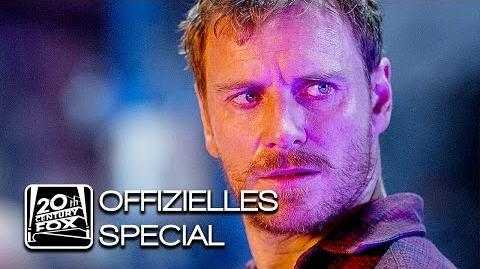 "X-Men Apocalypse ""Magneto"" Erik Lehnsherr Character-Clip Deutsch HD (Michael Fassbender)"