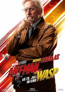 Ant-Man and the Wasp deutsches Charakterposter Hank Pym
