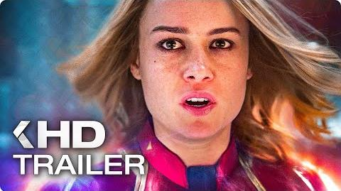 CAPTAIN MARVEL Trailer 3 German Deutsch (2019)