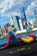 Spider-Man - Homecoming Teaserposter
