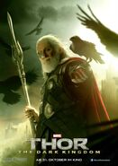 Charakterposter Odin Thor - The Dark Kingdom