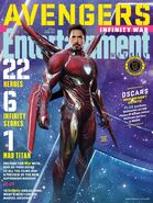Avengers - Infinity War Entertainment Weekly Cover 1