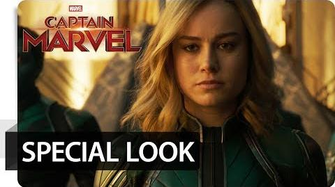 CAPTAIN MARVEL – Special Look Marvel HD