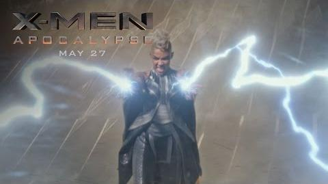 "X-Men Apocalypse ""Storm"" Power Piece HD 20th Century FOX-1"