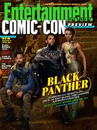 Black Panther Entertainment Weekly Cover