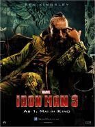 Iron Man 3 deutsches Charakterposter Mandarin