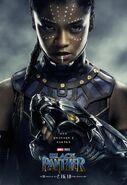 Black Panther Charakterposter Shuri