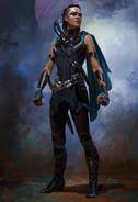 Thor Ragnarok Konzeptzeichnung 120