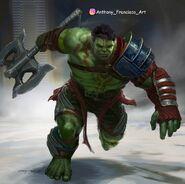 Thor Ragnarok Konzeptzeichnung 44