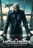 Captain America - The Winter Solider Nick Fury Charakterposter