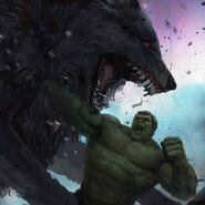 Thor Ragnarok Konzeptzeichnung 131
