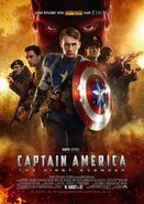 Captain America - The First Avenger deutsches Kinoposter