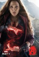 Charakterposter Scarlett Witch Avengers - Age of Ultron