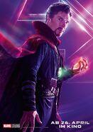 Avengers - Infinity War - Deutsches Doctor Strange Poster