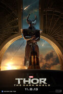 Thor - The Dark World Heimdall Charakterposter