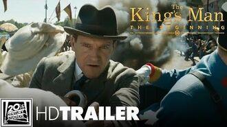 THE KING'S MAN - THE BEGINNING - 3.Offizieller Trailer (deutsch german) 20th Century Studios
