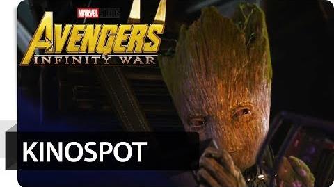 Avengers Infinity War - Kinospot Groot Marvel HD