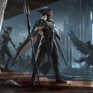 Thor Ragnarok Konzeptzeichnung 110