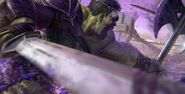 Thor Ragnarok Konzeptzeichnung 4