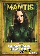 Guardians of the Galaxy Vol.2 Charakterposter Mantis