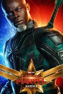 Captain Marvel Charakterposter Korath