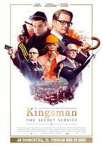Kingsman Deutsches Poster