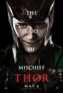 Thor Charakterposter Loki
