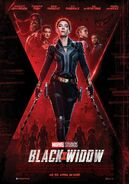 Black Widow deutsches Kinoposter