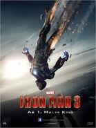 Iron Man 3 deutsches Teaserposter