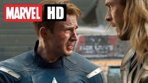 Marvel's THE AVENGERS - Filmclip - Thor und Captain America kämpfen