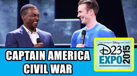 Captain America Civil War D23 Expo Panel Highlights - Chris Evans, Anthony Mackie, Kevin Feige
