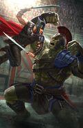 Thor Ragnarok Konzeptzeichnung 5
