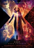 X-Men - Dark Pheonix deutsches Teaserposter 2