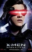 X-Men Apocalypse - Cyclops Charakterposter
