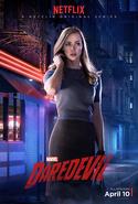 Daredevil Staffel 1 Charakterposter Karen Page