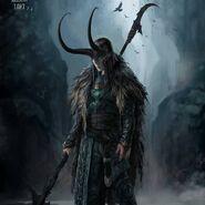 Thor Ragnarok Konzeptzeichnung 86