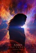 X-Men Dark Phoenix deutsches Teaserposter