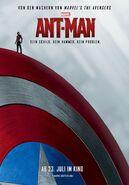 Ant-Man Captain Americas Schild Poster