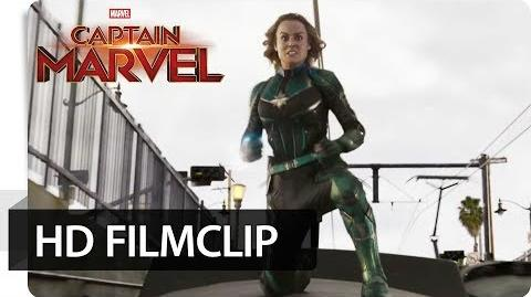 CAPTAIN MARVEL – Filmclip Zugtunnel Marvel HD