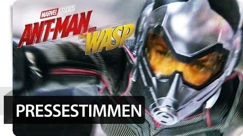 """ANT-MAN AND THE WASP - Pressestimmen """"Haut dich um!"""" Marvel HD"""