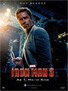 Iron Man 3 deutsches Charakterposter Aldrich Killian